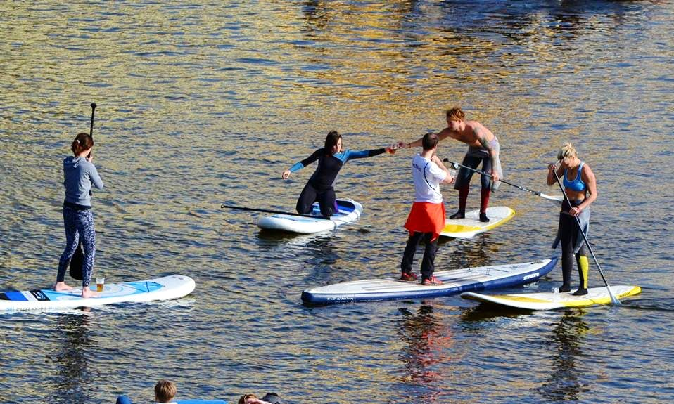 Paddleboard Lesson Rental in Prague