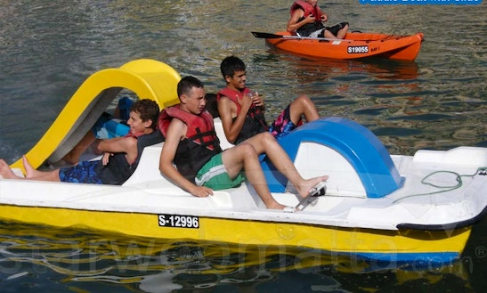 Paddel Boat With Slide For Hire In Munxar