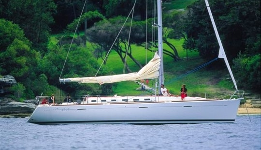 Charter This 10 People Sailing Yacht In Vibo Valentia, Italy!
