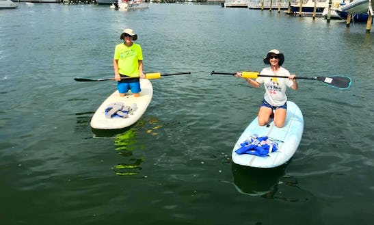 Paddleboard Lesson In Gulfport