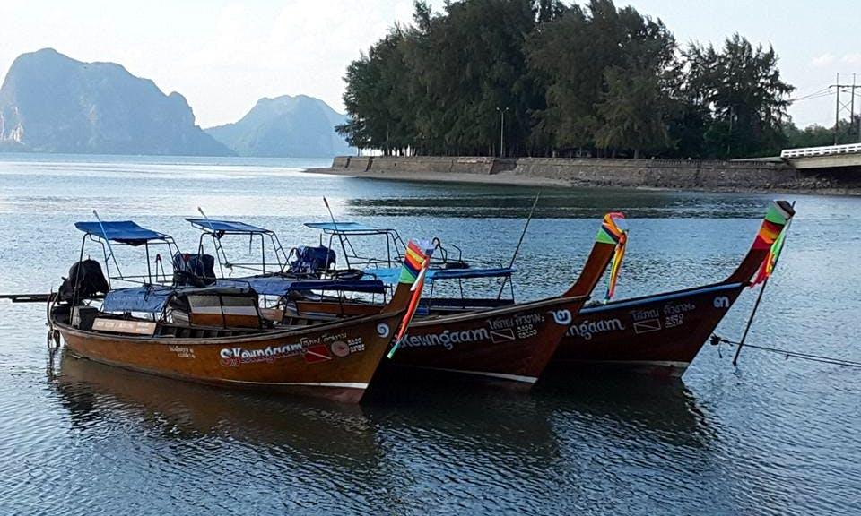 Long Tail Boat Diving Trips in Tambon Ko Libong