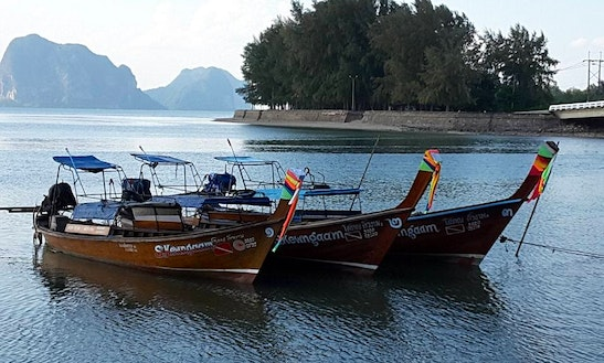 Long Tail Boat Diving Trips In Tambon Ko Libong