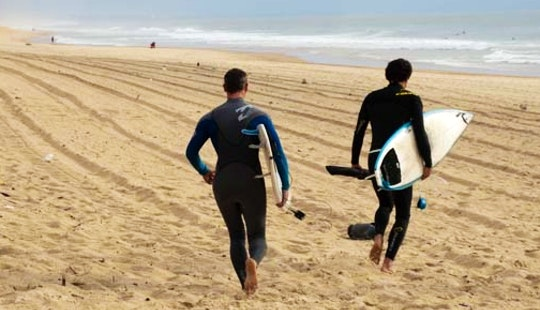 Surf Guiding Service In Hendaye