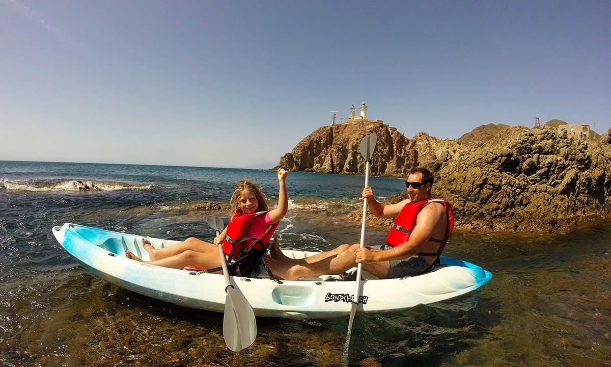 Kayak Tour On Natural Park Cabo de Gata Nijar