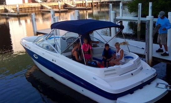 24' Bowrider Bayliner Rental In Dania Beach, Florida