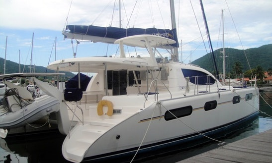 Catamaran 42 Cruising Catamaran Charters In Gros Islet, Saint Lucia