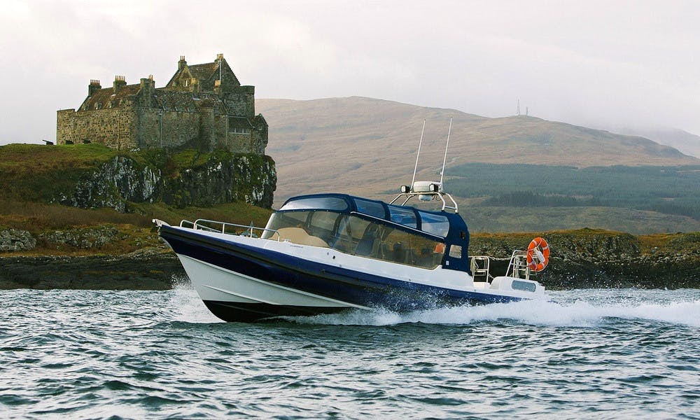 36' Cabined Rigid Inflattable Boat In Oban
