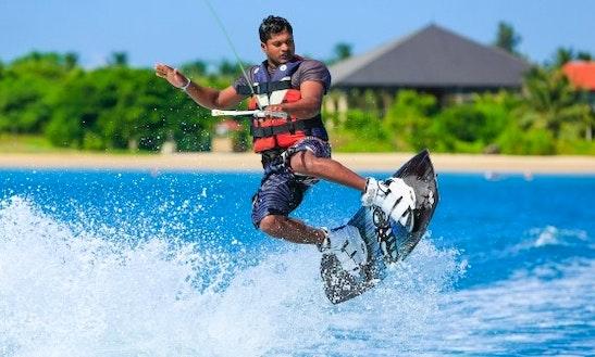 Water Skiing In Boralesgamuwa