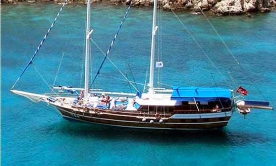 Sailing Gulet Charter In Muğla