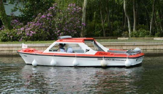 Super Quiet Electric Powered Launch  Rental In Hoveton