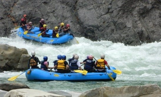 Daily Rafting Trips In Indus River
