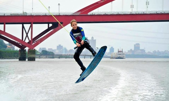 Wakeboarding In Zhongli District