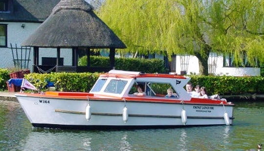 11 Person Canal Boat Rental In Hoveton England