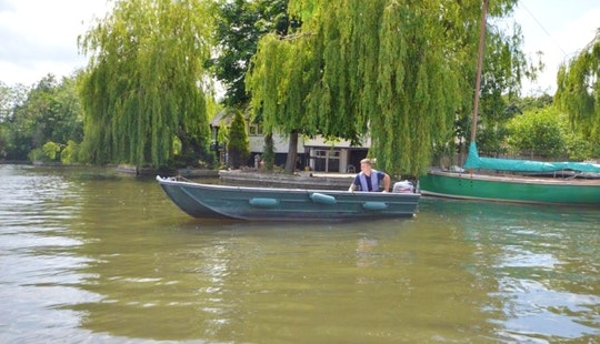 12ft Seastrike Fishing Dinghy With Outboard (2 Persons) Charter In Hoveton