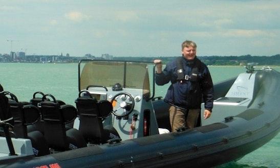 Rib Boat Sea Safari Hire In United Kingdom