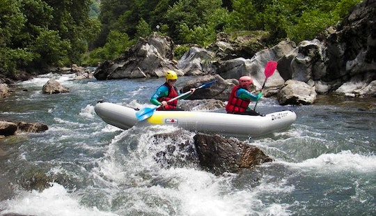 Exciting White Water Canoe Trips And Inflatable Canoe Rental In Bidarray, France