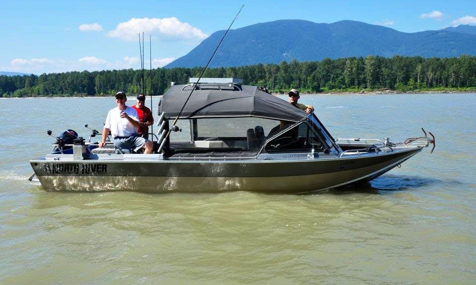 Custom Welder fishing Trips in Chilliwack
