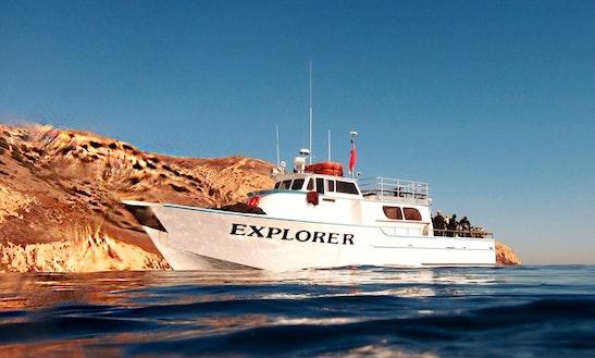 Dive Boat: Explorer In Ventura Harbor, Ca.