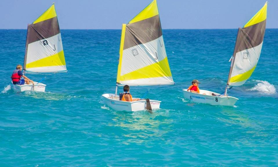 'Optimist' Sailing Lessons in Thoum