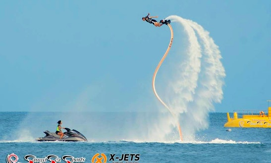 Flyboarding In Ko Samui