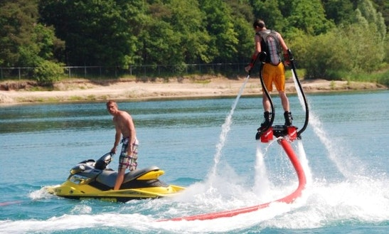Flyboarding In Biddinghuizen