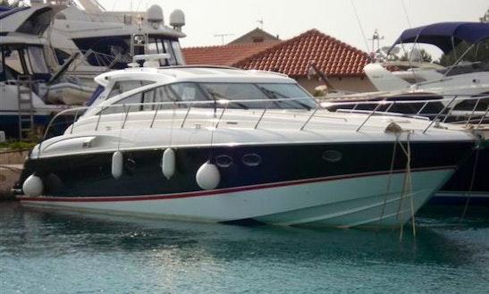 Princess V58 Power Mega Yacht Charter In Miami
