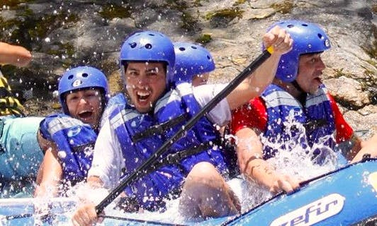 Rafting in Paraty