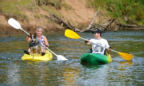 Single Kayak Hire In Gympie