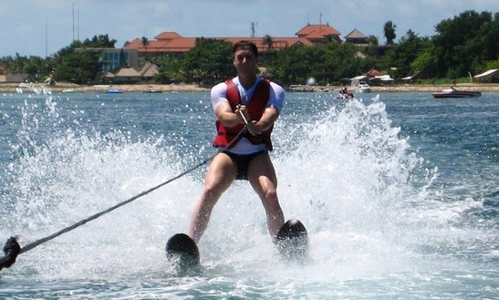 Water Skiing In Kuta Selatan