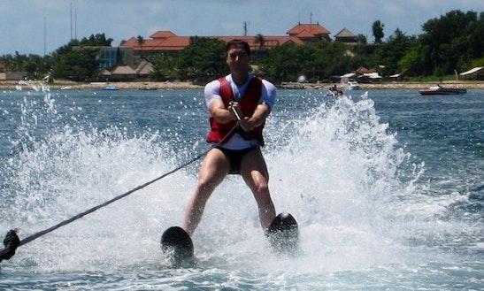 Water Skiing In Kuta Selatan