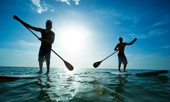 Stand Up Paddleboard Rental In Sainte-anne