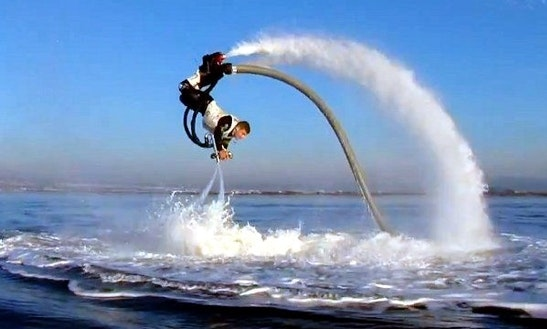 Flyboarding In Canet-en-roussillon, France