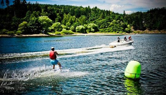 Water Skiing In Davle