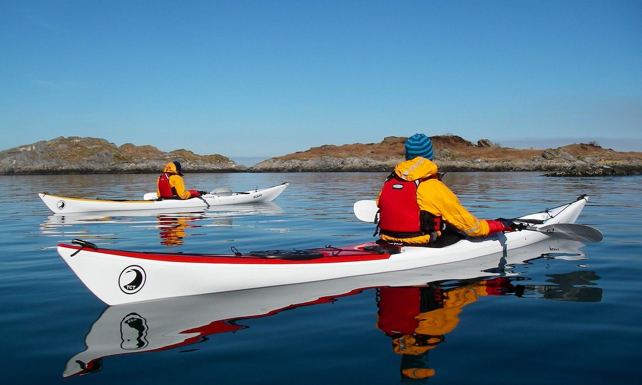 Single Kayak Sea Trips In Glenuig