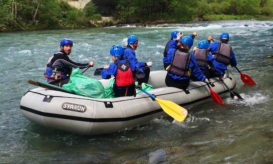 Rafting In Piškovca