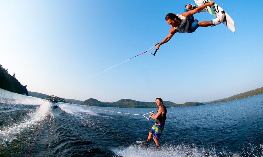 Wakeboarding Trip in Rohuneeme