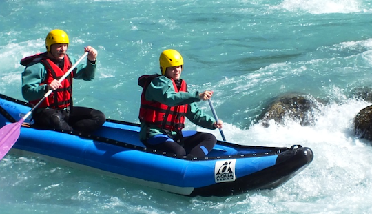 Hit The River Safely On This Hot Dog Airboat In Briancon, France