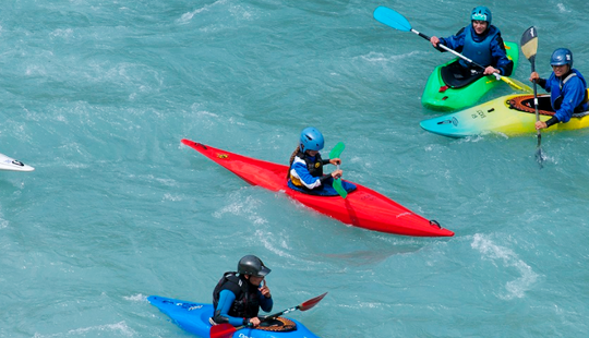 Rent A Single Kayak In Briancon, France