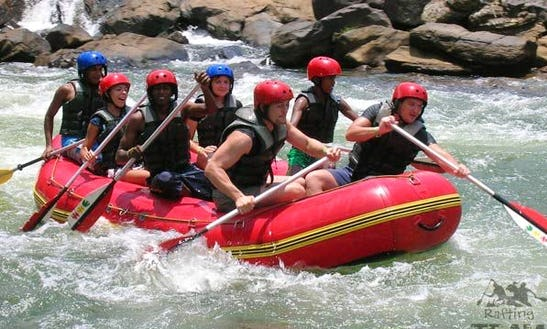 Rafting Tour In Kitulgala