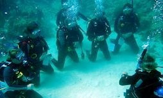 Scuba Lessons And Diving In Paros