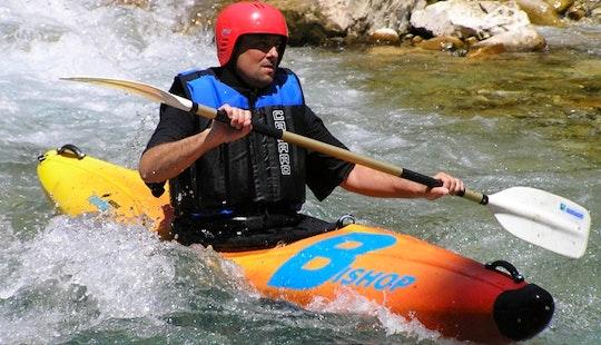 Single Kayaking Monoraft In Ioannina