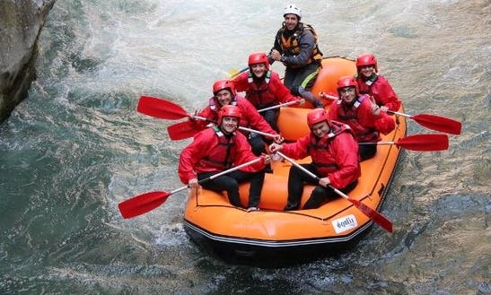 Rafting Trips In Papasidero