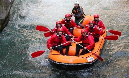 Rafting Trips In Papasidero