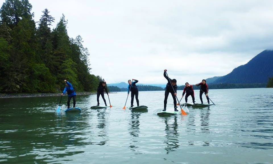 Paddleboard Tour in Tofino