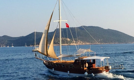 49' Sailing Gulet For Charter In Antalya,