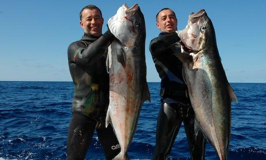 Big Game & Spear Fishing In Ponta Delgada