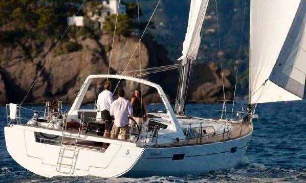 "Beneteau Oceanis ""Crann Bethadh"" Sailing Yacht In Comox"