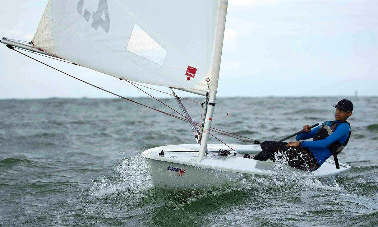 'Laser' Sailing Lessons and Hire in Hyderabad