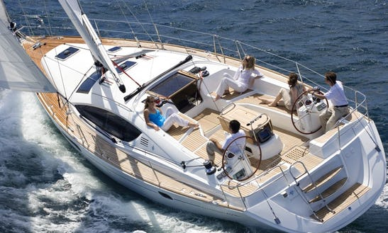 Charter 52' Jeaneau Cruising Monohull In Varna, Bulgaria For Up To 6 People