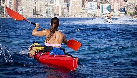 Single Kayaking Trips In Benidorm